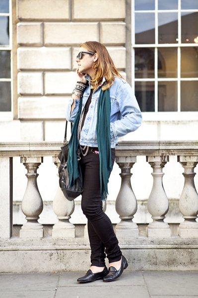 moda uliczna na London Fashion Week