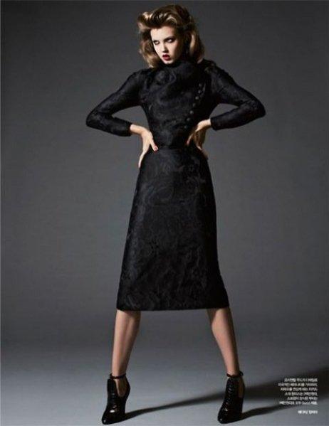 Lindsey Wixson Harper's Bazaar Korea