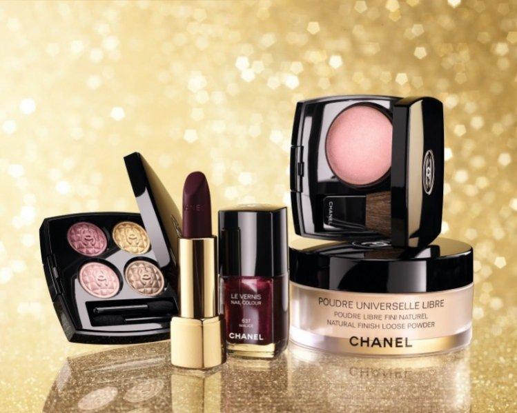 Świąteczna kolekcja kosmetyków do makijażu Éclats du Soir de Chanel