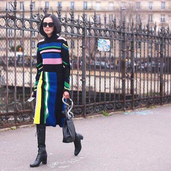 Blogerka modowa i influencerka Yoyo Cao (@yoyokulala) - stylizacje (1)