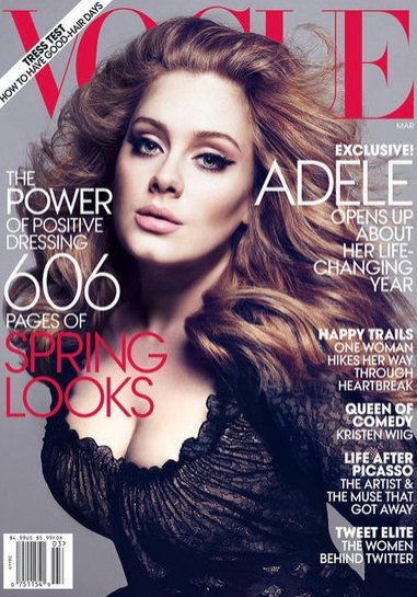 Adele dla Vogue UK