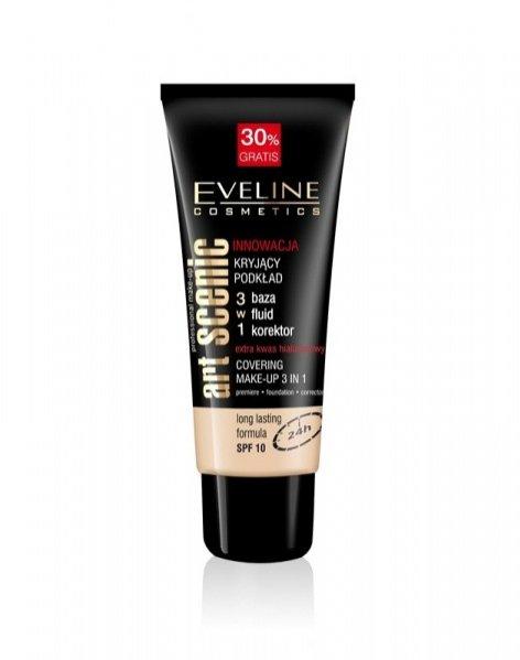 podkład do twarzy Eveline Cosmetics 3 w 1 z Seri ArtScenic