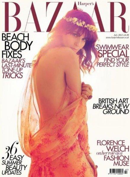 Florence Welch w czerwcowym Harper's Bazaar UK
