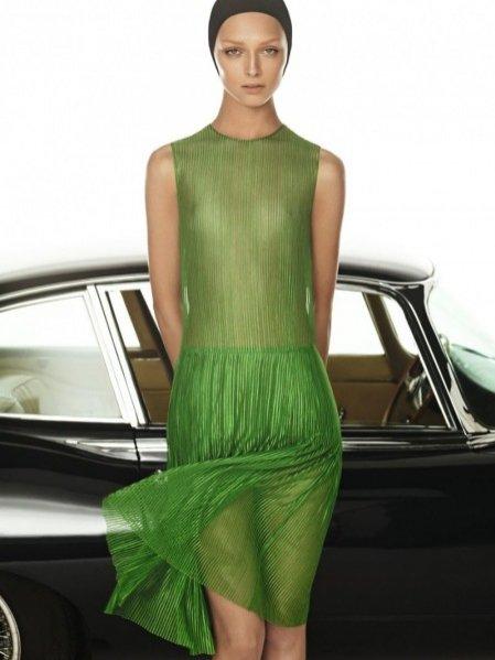 Daga Ziober w kampanii reklamowej Akris na sezon wiosna lato 2012