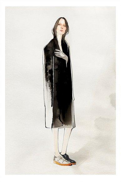 Nuno da Costa - ilustracje modowe (1)