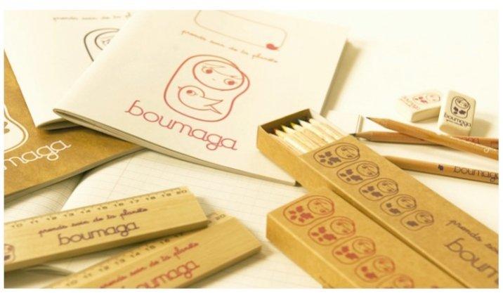 Boumaga - minimalistyczne akcesoria szkolne