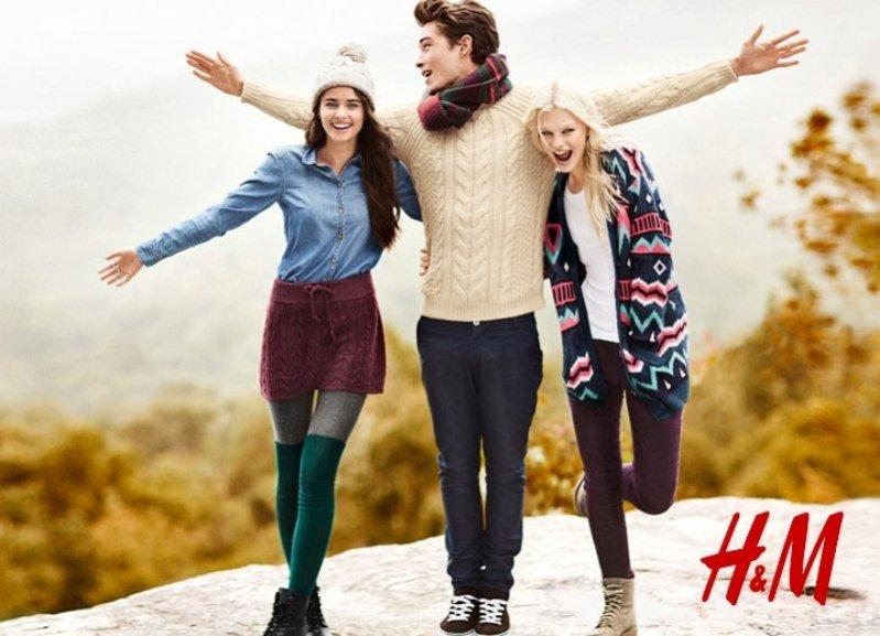 kampania jesień 2012 H&M Divided