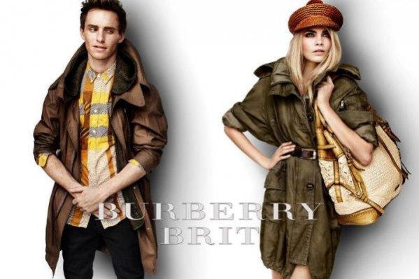 Cara Delevingne i Eddie Redmayne w styczniowej odsłonie kampanii Burberry na sezon wiosna lato 2012