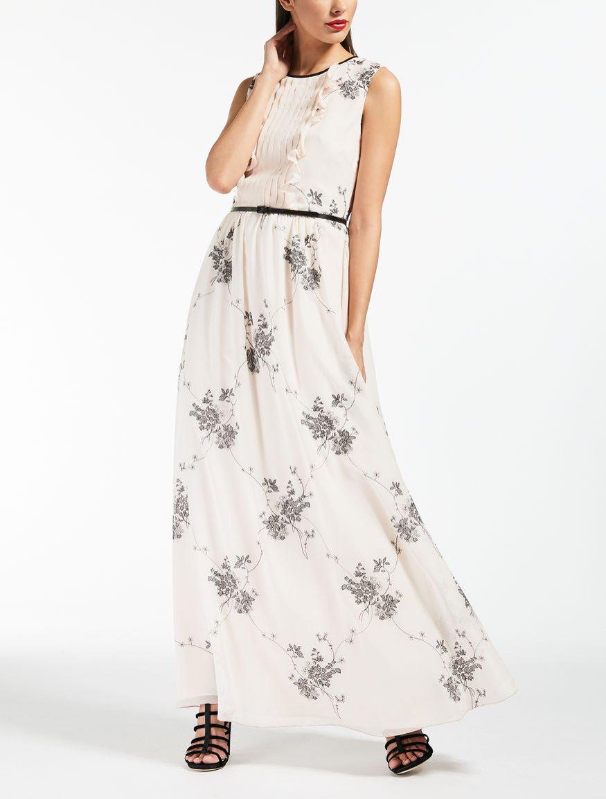 Sukienka z roślinnym motywem, Max Mara, 3900 pln