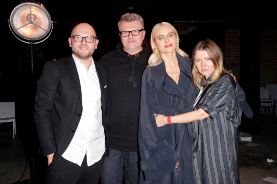 Rafał Wyszyński, Rafał Michalak, Joanna Horodyńska i Ilona Majer