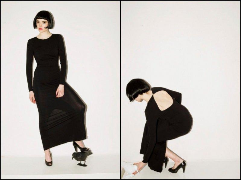 Suknia 360 PLN - Mozcau The First Lady - trend black&white