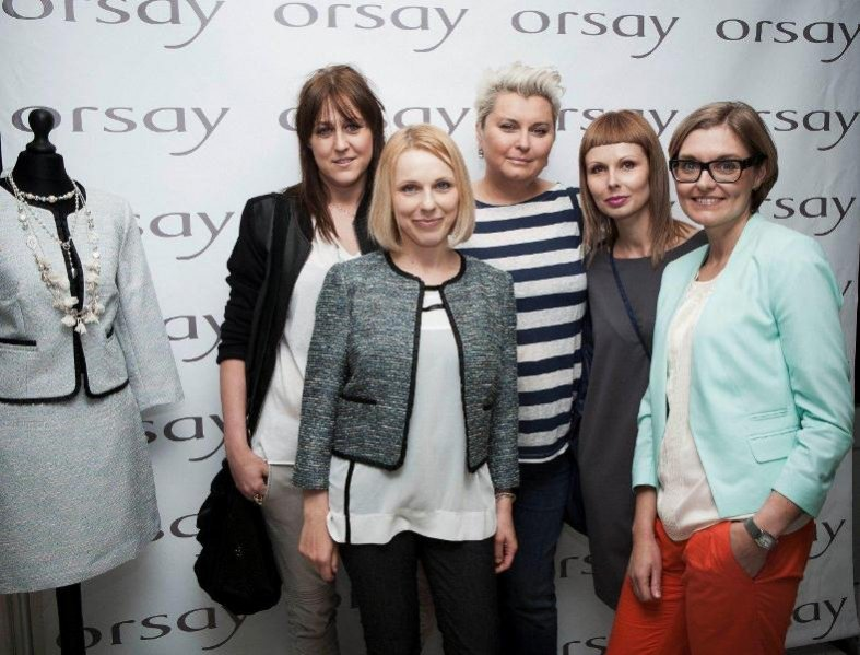 Anna Męczyńska na prezentacji kolekcji Orsay jesień zima 2012