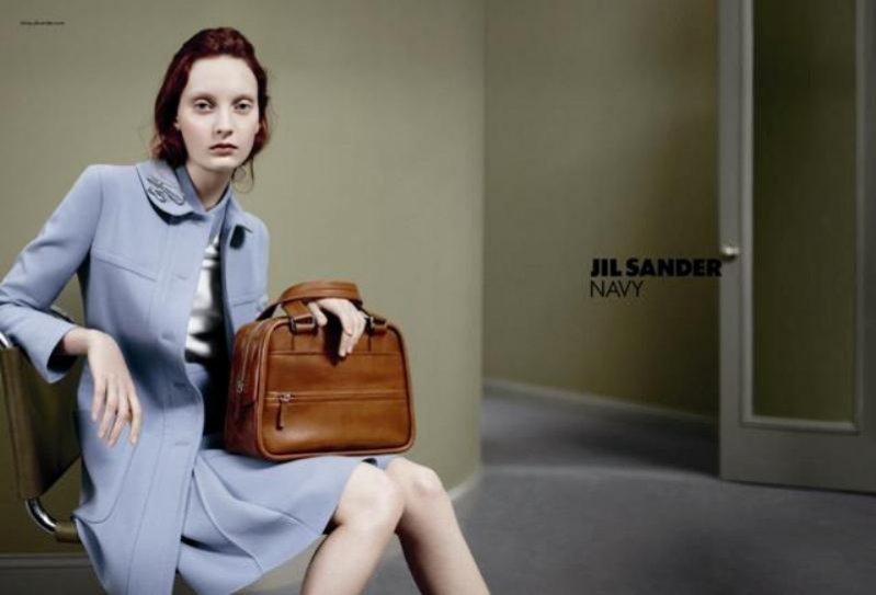 kampania Jil Sander Navy jesień zima 2012