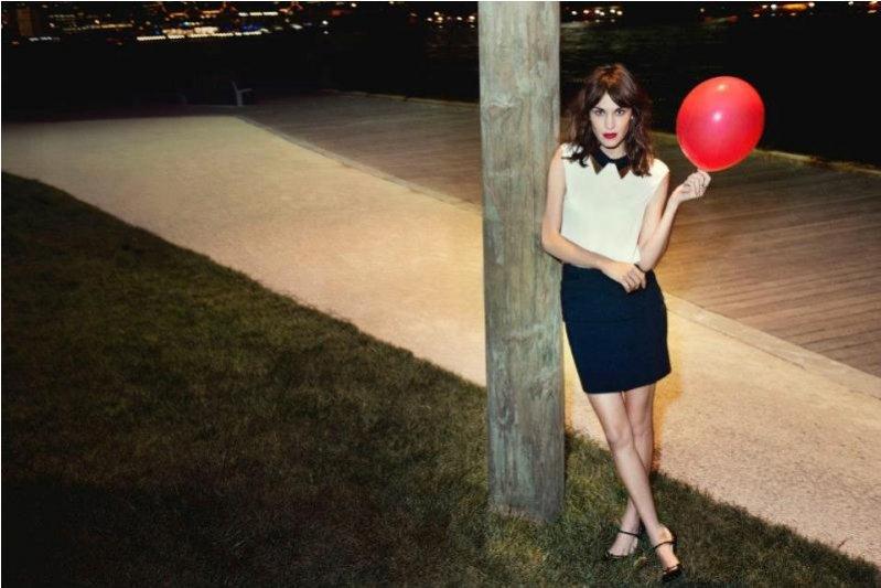 Alexa Chung w kampanii Vero Moda jesień 2012
