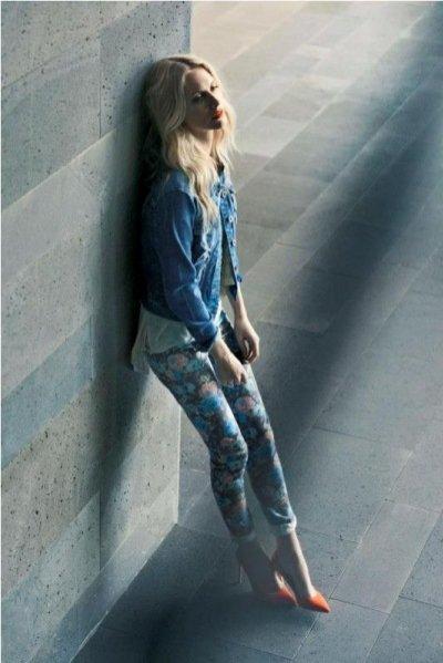 kampania Vero Moda wiosna 2013 z Poppy Delevingne
