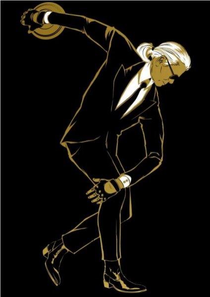 Olimpijski Karl Lagerfeld