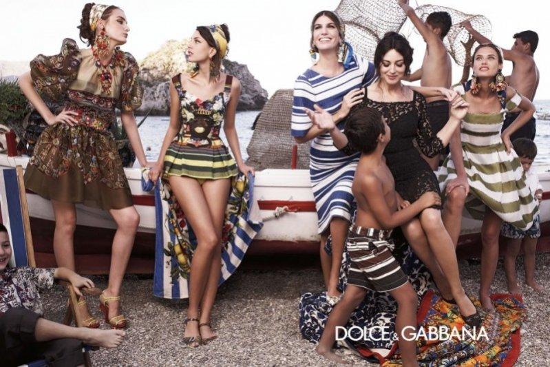 sycylijska kampania Dolce & Gabbana wiosna lato 2013