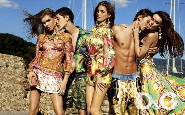 Patrycja Gardygajło w kampanii D&G na sezon wiosna lato 2012