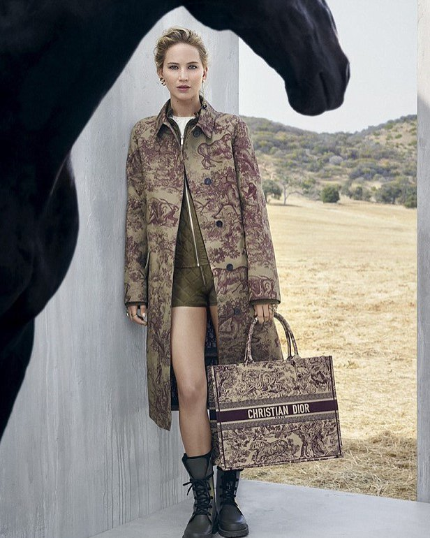 Jennifer Lawrence x Dior: kampania 2019