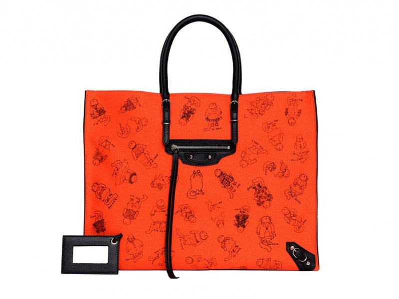 """Pumpkin Papier Tote Bag"" projektu Grace Coddington"