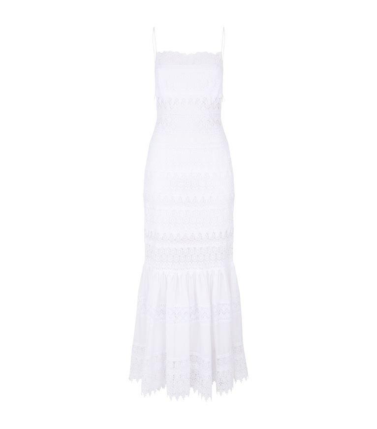 Sukienka biała na ramiączkach, Charo Ruiz Ibiza/Harrods, 5400 pln