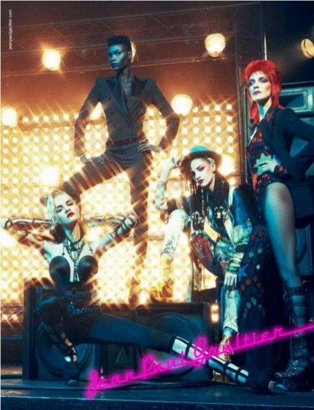 kampania Jean Paul Gaultier wiosna lato 2013