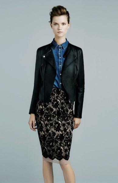 Kasia Struss w lookbooku Zara Listopad 2011