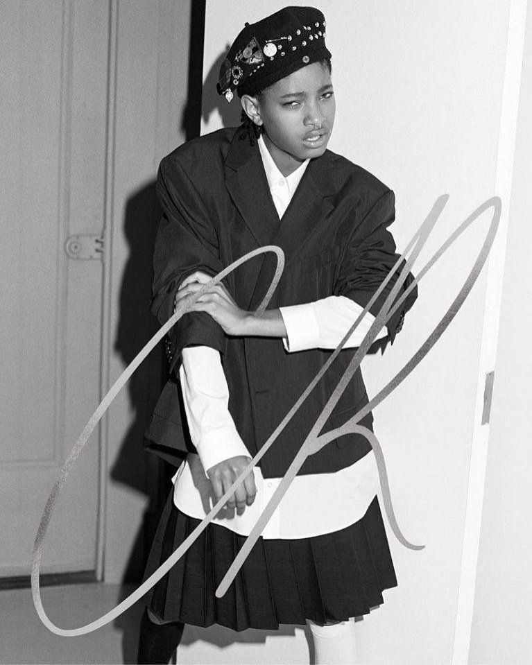 Willow Smith w CR Fashion Book