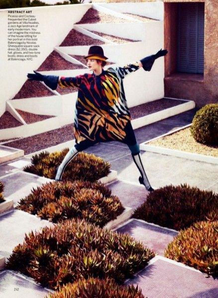 Natalia Vodianova i Michael Fassbender w sesji dla Vogue US