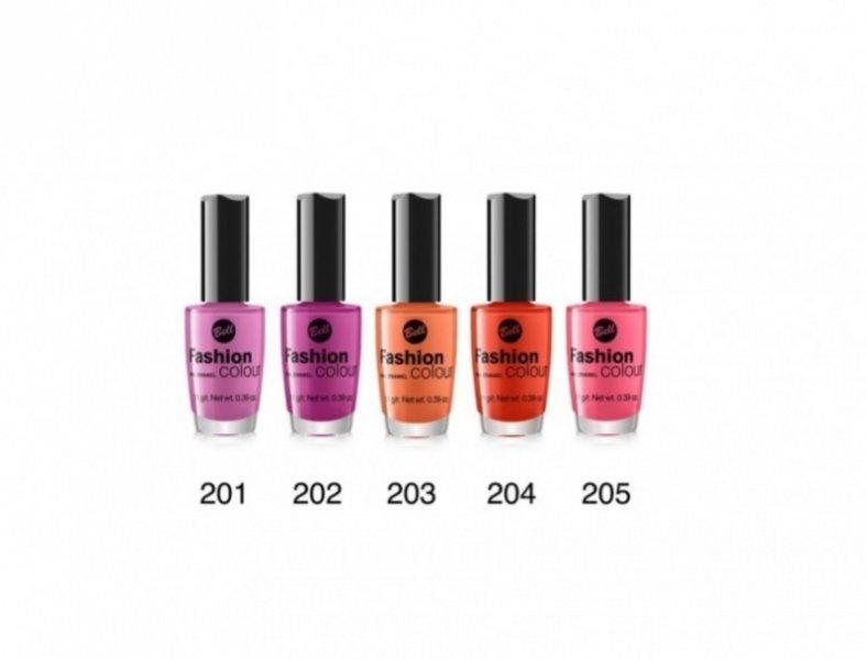 Lakiery do paznokci Bell Fashion Colour