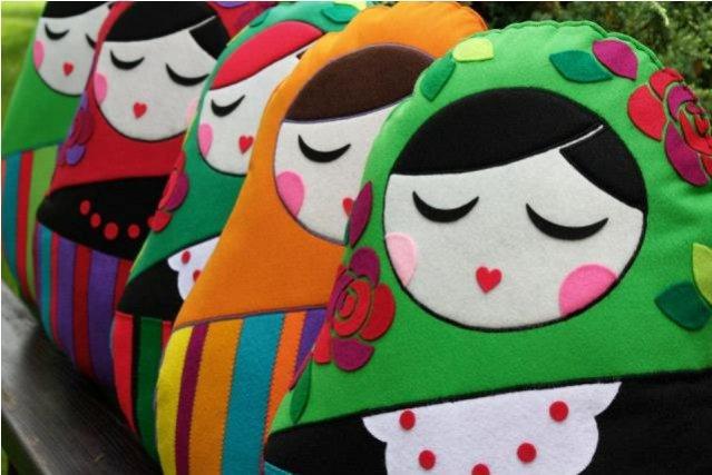 Poduszki -  lalki marki Mima Design!