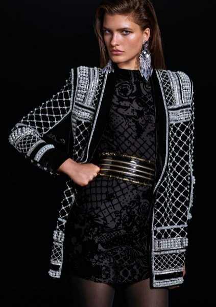 1. Lookbook Balmain x H&M