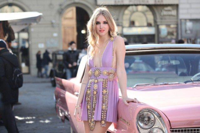 Chiara Ferragni - nowa strona autorki The Blonde Salad