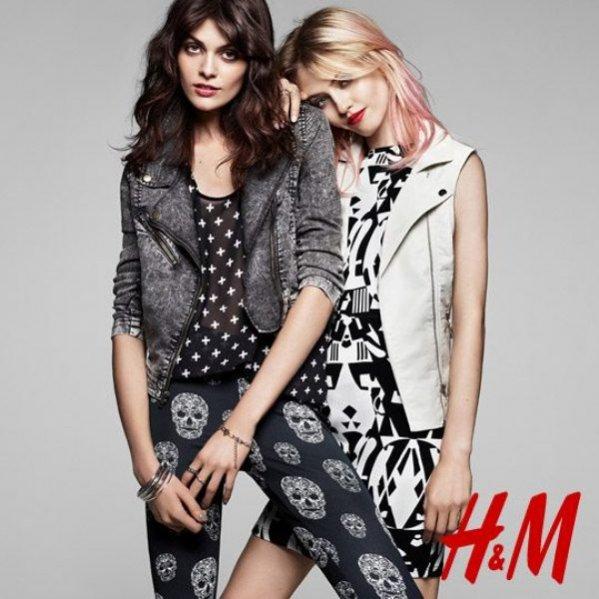 lookbook H&M wiosna 2013