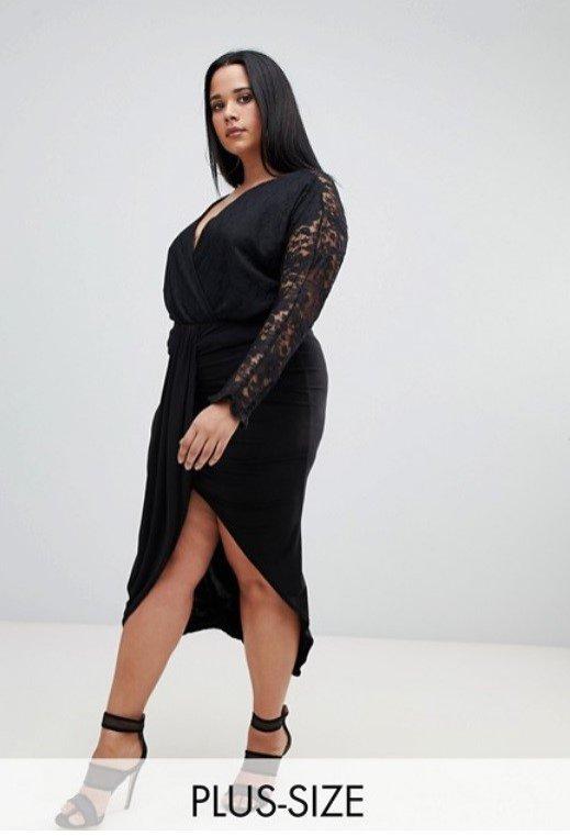 Sukienka z rozcięciem, ASOS, 68 pln