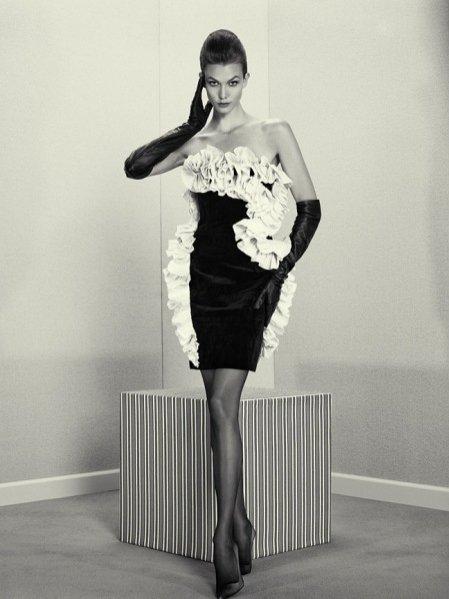 Karlie Kloss w jesiennym wydaniu Acne Paper