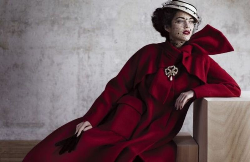 Marion Cotillard w sesji dla Dior Magazine