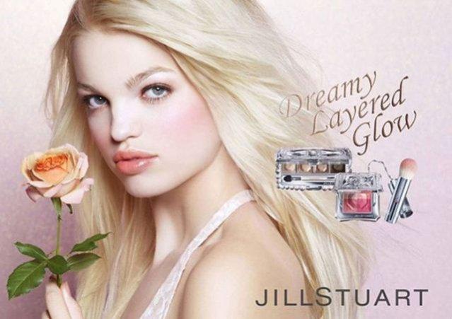 Jill Stuart kampania beauty  wiosna 2013