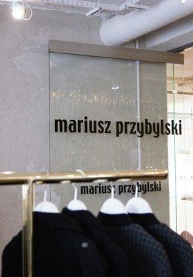 MARIUSZ PRZYBYLSKI - NOWY BUTIK PROJEKTANTA PRZY MYSIA 3