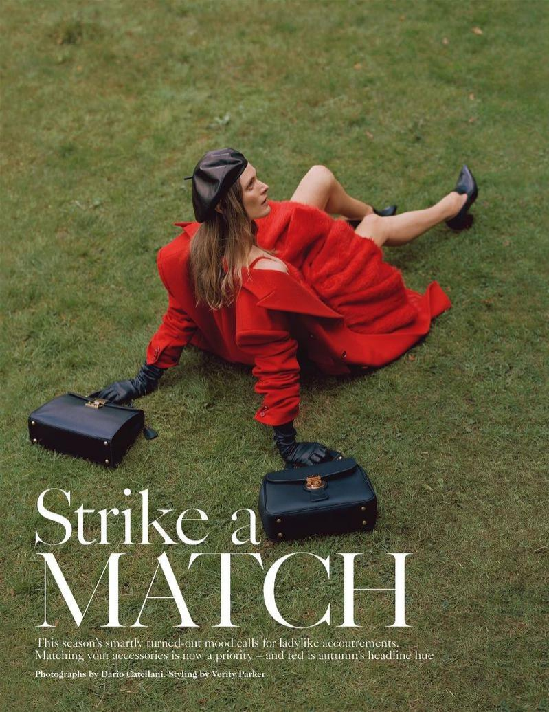 Strike a Match (Vogue UK)