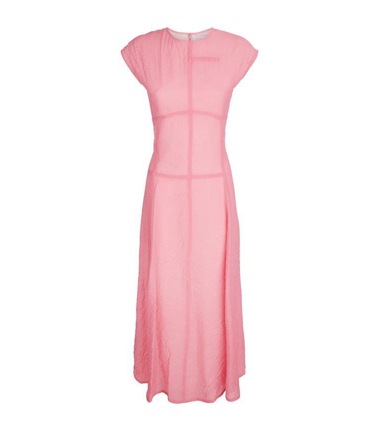 Sukienka w odcieniu różu, Victoria Beckham/Harrods, 7300 pln