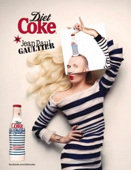 Dietetyczna Cola od Jean Paul Gaultier