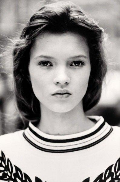 zdjęcia testowe Kate Moss