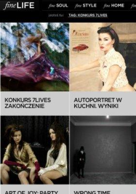 KONKURS FOTOGRAFICZNY 7 LIVES