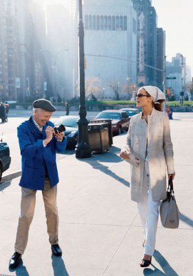 BILL CUNNINGHAM – LEGENDARNY FOTOGRAF STREET FASHION
