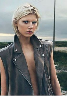 OLA RUDNICKA W LOOKBOOKU ALL SAINTS SS 2014