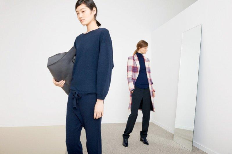 Kasia Struss i Chiharu Okungi w listopadowym lookbooku Zary
