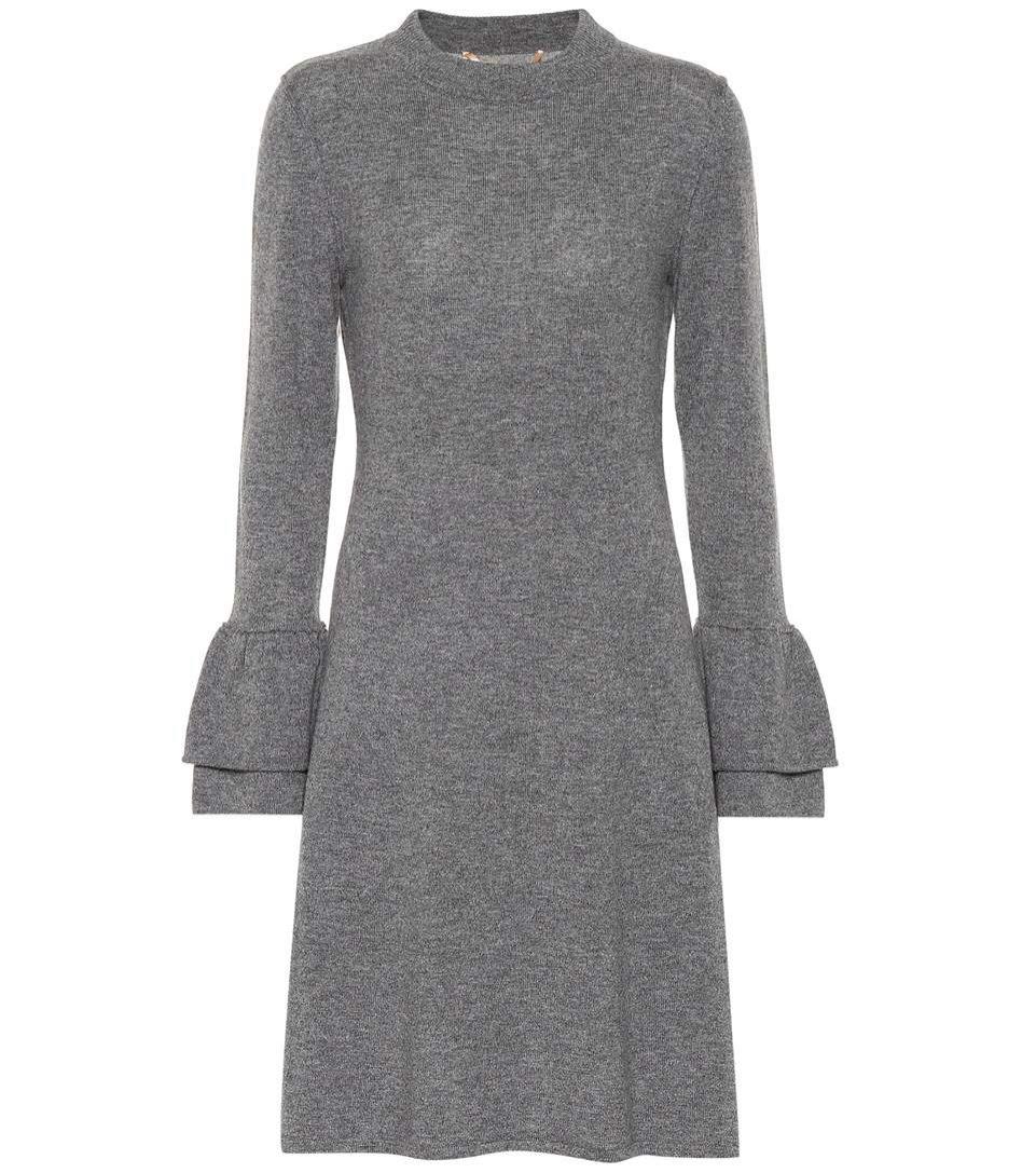 Szara sukienka z dżerseju, 81 hours/Mytheresa, 349 eur