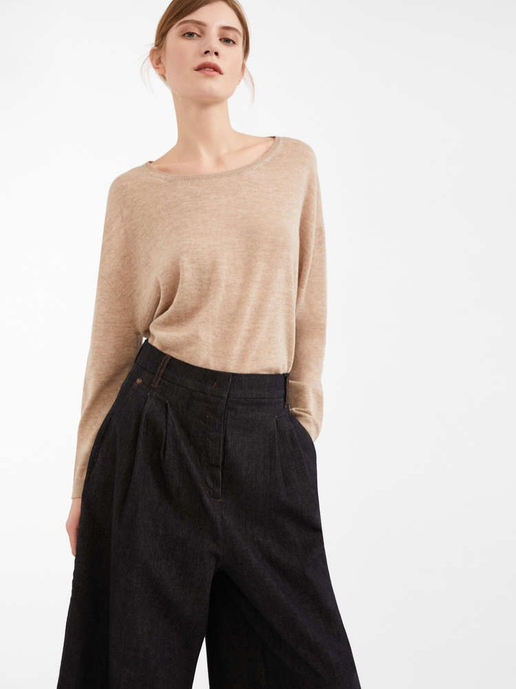 Beżowy sweter, Max Mara, 839 pln