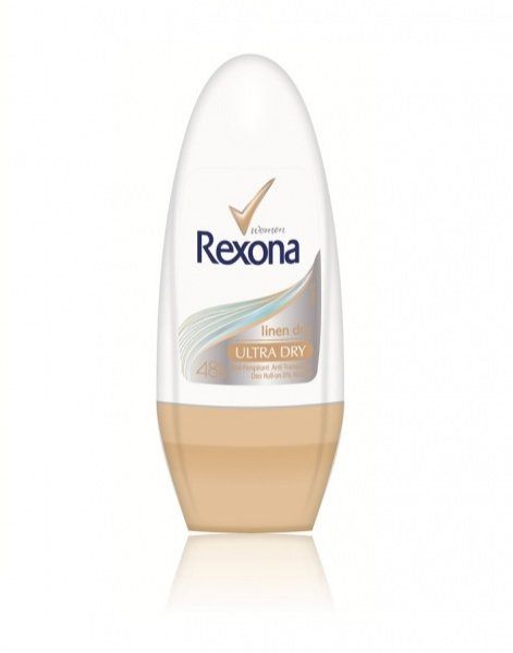 Rexona Linen Dry -  Kulka 50 ml – cena ok. 10 PLN